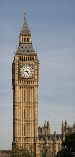 "The Clock Tower of the Palace of Westminster, colloquially known as ""Big Ben"""